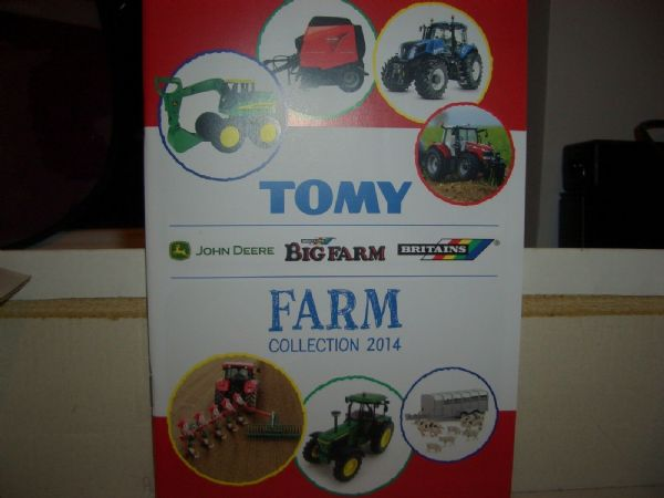 Britains Big Farm Collection Tomy John Deere Catalogue 2014